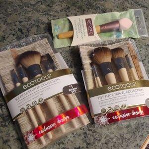 Ecotools makeup brush sets